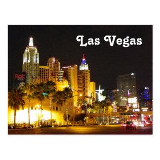 Las Vegas no cartão da noite!