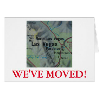 Las Vegas nós movemos o anúncio do endereço