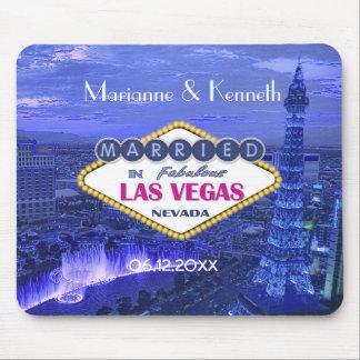 Las Vegas que Wedding a lembrança Mousepad