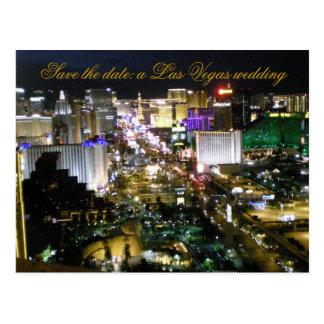 Las Vegas que Wedding a resposta do convidado de Cartão Postal