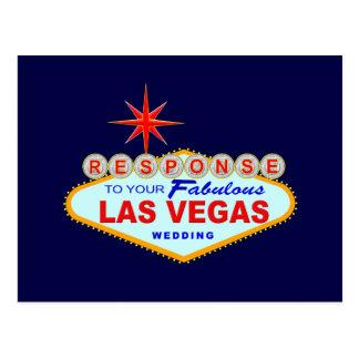 Las Vegas que Wedding o cartão 1 da resposta