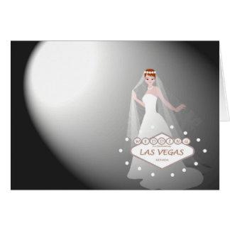 """Las Vegas que Wedding """"projector o cartão na noiva"""