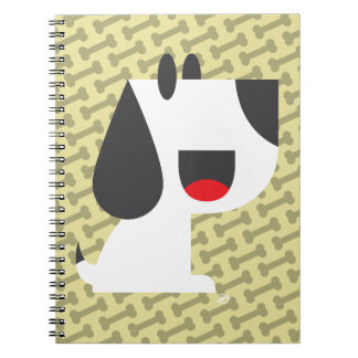 Latido do latido (amarelo) - caderno