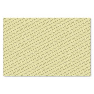 Latido do latido (amarelo) - lenço de papel