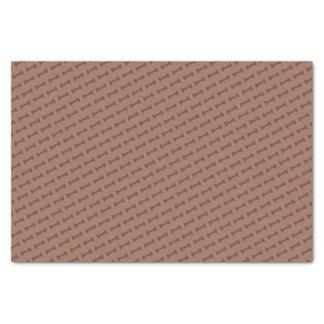 Latido do latido (Brown) - lenço de papel