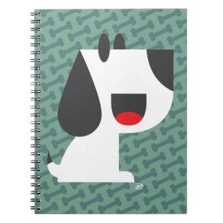 Latido do latido (verde) - caderno