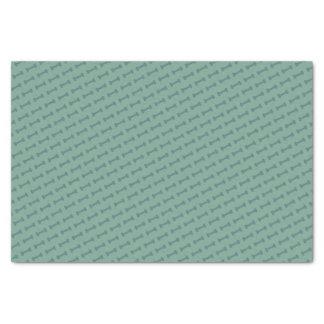 Latido do latido (verde) - lenço de papel