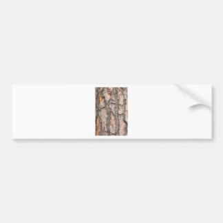 Latido do pinheiro escocês como o fundo adesivo para carro