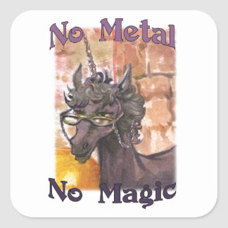 Lauda nenhum metal nenhumas etiquetas mágicas
