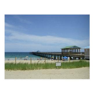 Lauderdale pelo mar, Fort Lauderdale Florida Cartão Postal