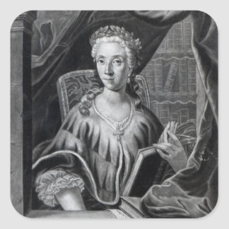 Laura Maria Caterina Bassi Adesivo Quadrado