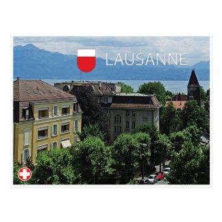 Lausana - cartão da suiça