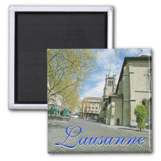 Lausana, ímã quadrado da suiça