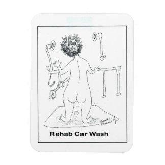 Lavagem de carros da reabilitação ímã