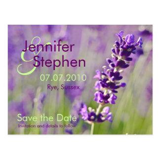 Lavendar • Salvar o cartão da data