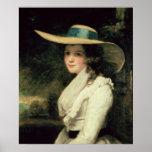 Lavinia Bingham, ò condessa Spencer 1785-6 Poster