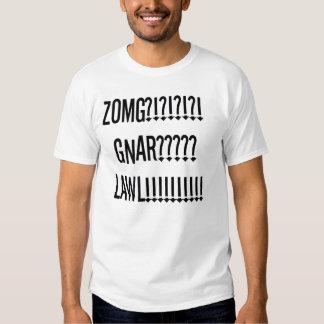 lawl gnar do zomg t-shirt
