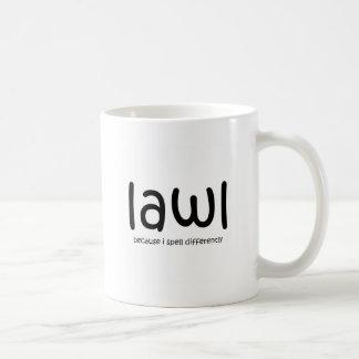 Lawl - porque eu soletro differnetly canecas