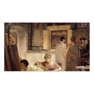 Lawrence Tadema- uma galeria fotográfica Cartoes De Visitas
