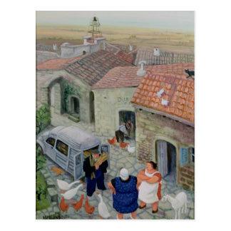 Le Boulanger Cartão Postal