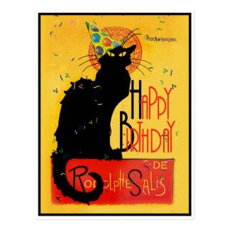 Le Conversa Noir - cartões de aniversários felizes