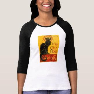 Le Conversa Noir o vintage de Nouveau da arte do T-shirts