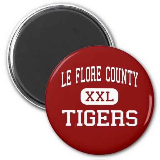 Le Flore County - tigres - alto - CIMT Bena Imã