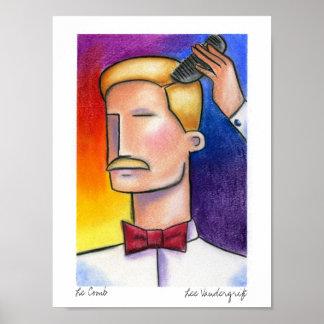 Le Pente por Lee Vandergrift Poster