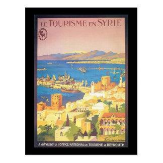 Le Tourisme en Syrie Cartão Postal