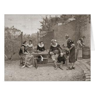 Le Vin Nouveau 1894 Cartão