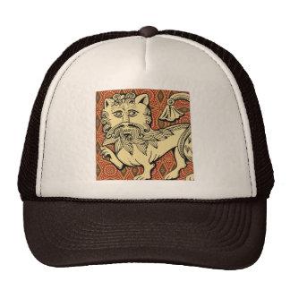 Leão antigo boné