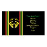 Leão B/Card da reggae Cartão De Visita