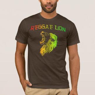 Leão da reggae camiseta