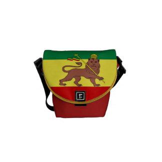 Leão da reggae de Rasta do mini mensageiro zero de Bolsa Mensageiro