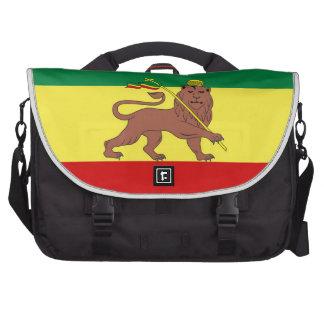 Leão da reggae de Rasta do saco do laptop da Pastas Para Notebooks