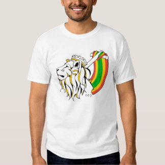 Leão da reggae de Rasta que ascensão Camiseta