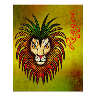 Leão da reggae poster