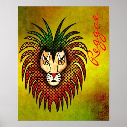 Leão da reggae posters