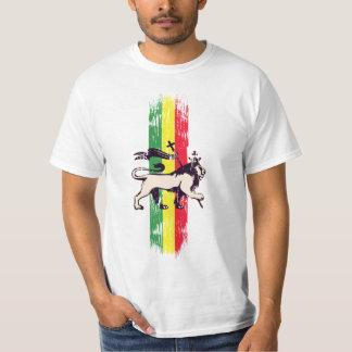Leão da reggae tshirt