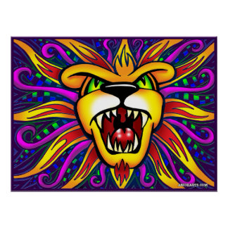 Leão de AMOKArts do poster de Judah