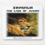 Leão de Judah Mouse Pad