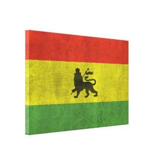 Leão de Judah Impressão De Canvas Envolvidas