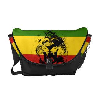 Leão de Rasta da bolsa mensageiro de Haile Selassi