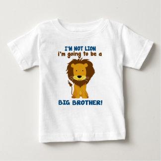 Leão do big brother camiseta para bebê