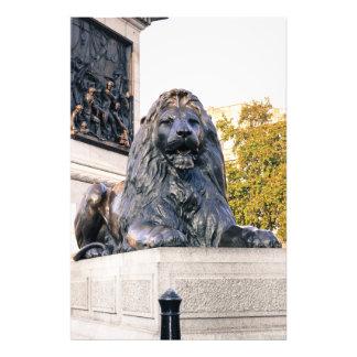 Leão do quadrado de Trafalgar Impressão De Foto