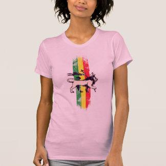 Leão do rei da reggae t-shirt