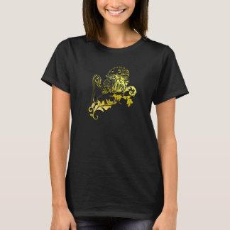 Leão heráldico do ouro - os t-shirt de MyBlazon