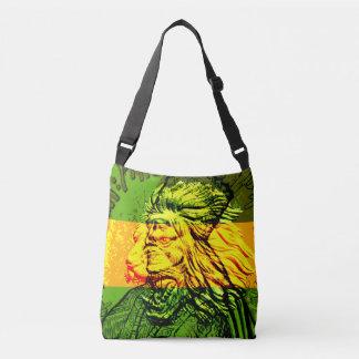 Leão jamaicano do saco para o transporte de bolsas carteiro