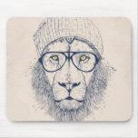 Leão legal mouse pad