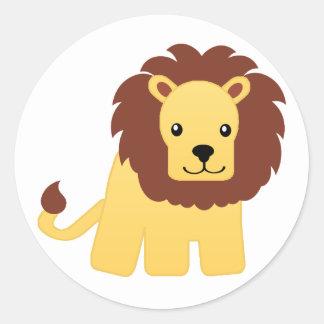 Leão - rei da selva adesivo